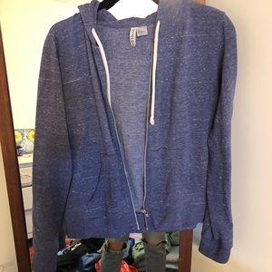 Purple H&M Zip-up Jacket